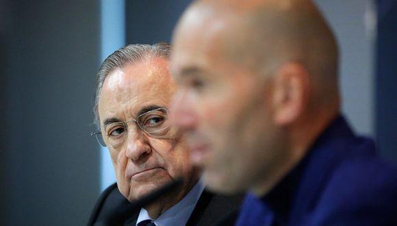 Zidane cumple su segunda etapa como entrenador en el Real Madrid. (Getty)
