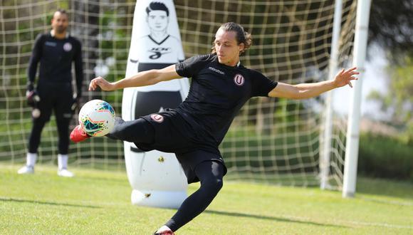 Patrick Zubczuk regresó esta temporada a Universitario de Deportes tras su paso por U. César Vallejo. (Foto: Universitario de Deportes)