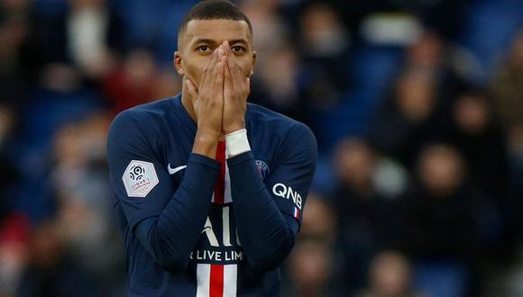 Mbappé ya pasó por una situación parecida el año pasado con su cuenta de Twitter. (Getty Images)