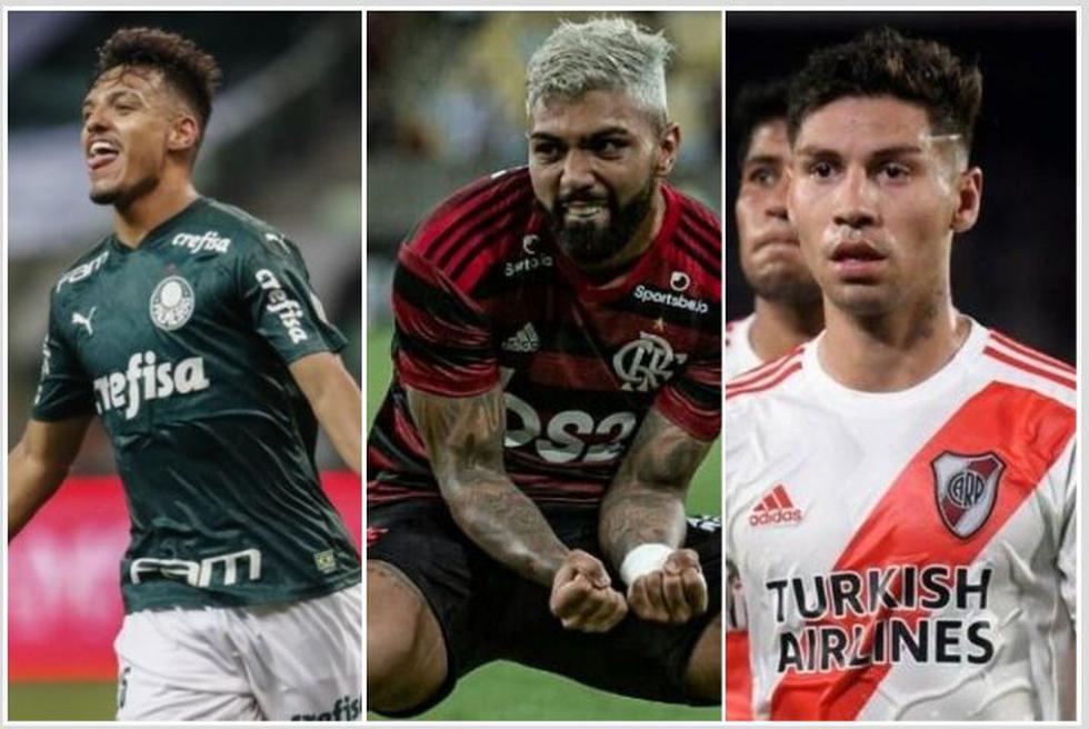 El XI más caro de la Copa Libertadores.