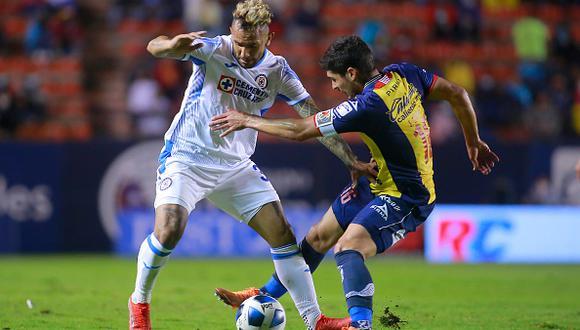 Cruz Azul vs. Atlético San Luis jugaron por la jornada 6 de la Liga MX 2021 este sábado (Foto: Getty Images).