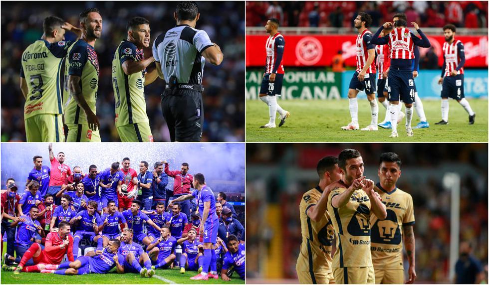 América, Cruz Azul y el top 10 de los equipos mexicanos con más aficionados [FOTOS]