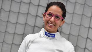Esgrimista María Luisa Doig clasificó a los Juegos Olímpicos de Tokio