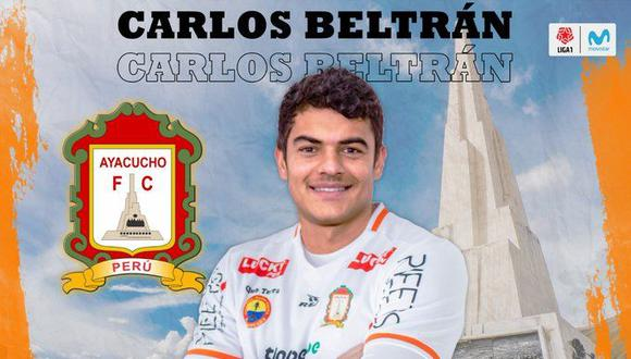 Beltrán anunció este lunes el fin de su segundo ciclo en Alianza. (Foto: Ayacucho FC).