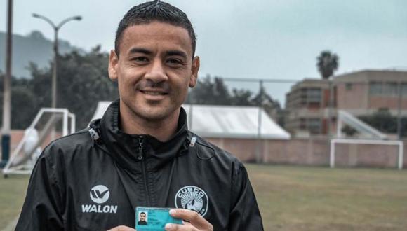 Alfredo tiene 34 años y el 2016 fue campeón con Sporting Cristal. (Foto: Cusco FC)