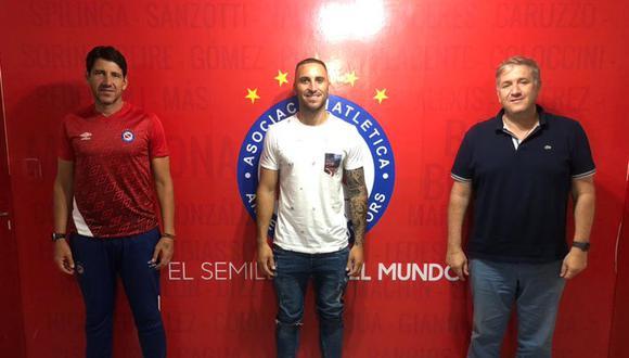 Emanuel Herrera regresa a su país tras hacer historia en Sporting Cristal. (Foto: Argentinos Juniors)