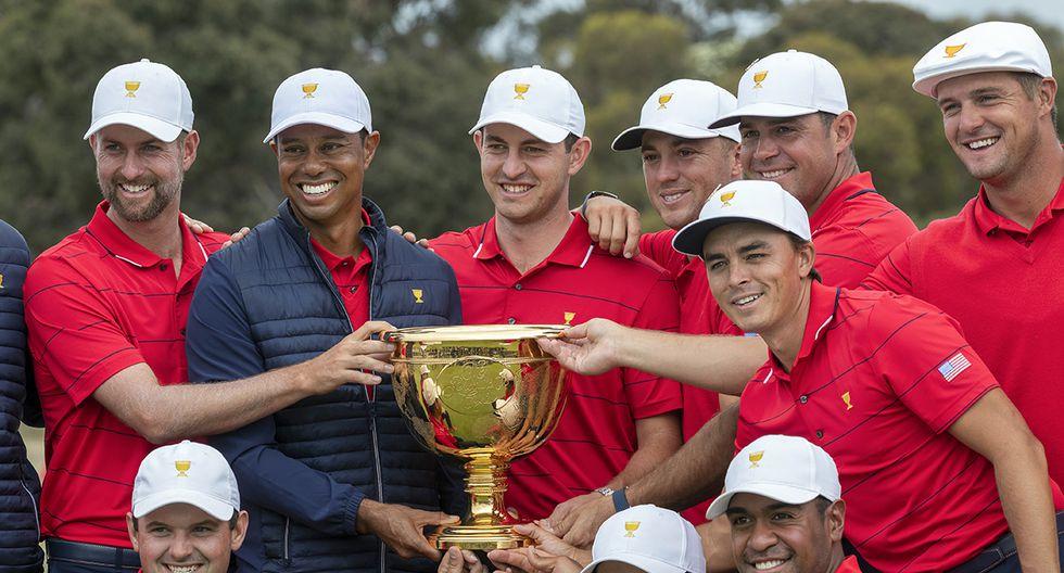 El golfista Tiger Woods compite a ser el Mejor Deportista del año. (Foto: AFP)
