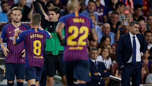 Ernesto Valverde fue cesado en el cargo de DT del Barcelona luego de dos temporadas y media. (Foto: Getty)