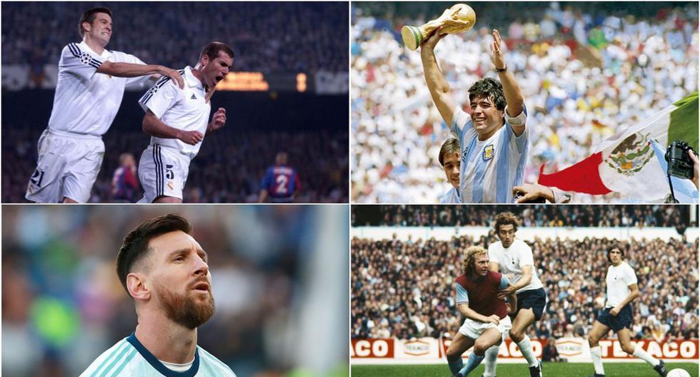 El XI ideal de toda la historia del fútbol. (Getty)
