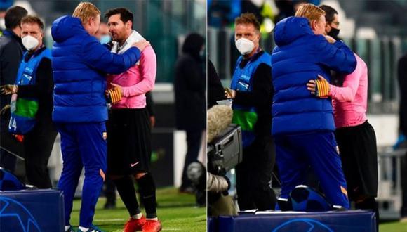 El cuadro azulgrana venció 2-0 a la Juventus en Turín por la Champions. (Foto: Marca)