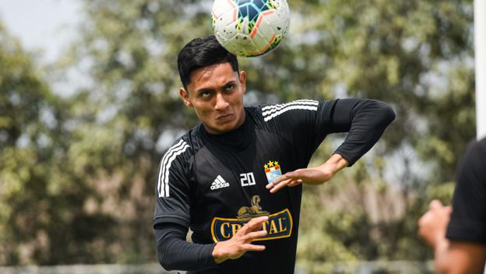 Kevin Sandoval - Cienciano.  (Photo: Sporting Cristal)