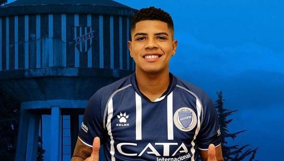 Wilder Cartagena continuará en Godoy Cruz. (Foto: Twitter)