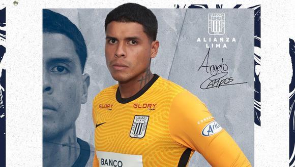 Ángelo Campos ha mantenido el arco de Alianza Liam en cero, desde que asumió la titularidad. (Foto: prensa AL)