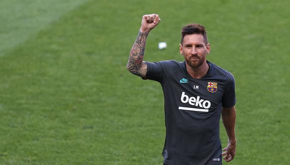 Lionel Messi tiene contrato con el Barcelona hasta junio de 2021. (Foto: AFP)