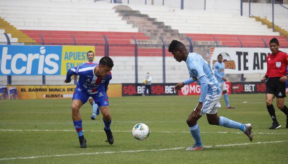 Sporting Cristal empató 3-3 ante Carlos A. Mannucci, por la Fecha 15 del Apertura. (Foto: Liga 1)