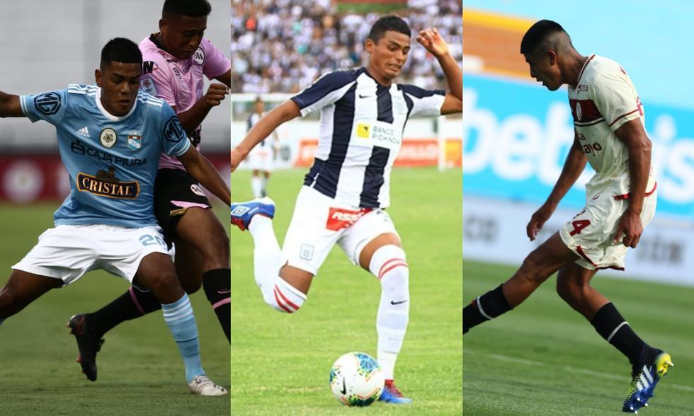 Joao Grimaldo, Kluiverth Aguilar y José Soto han sumado en la bolsa de minutos para sus respectivos equipos. (Fotos: Liga 1)