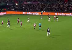 Puro oportunismo: Luis Sinisterra puso el 3-1 en el Feyenoord vs. Unión Berlín [VIDEO]