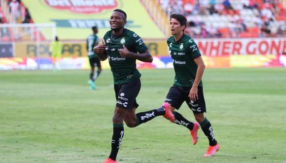 Santos Laguna venció 3-0 a Necaxa en la Jornada 1 del Apertura 2021 de la Liga MX. (Foto: ESPN)