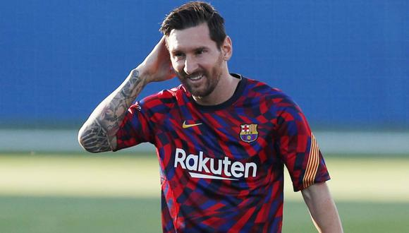 Lionel Messi no jugó ante la Real Sociedad el miércoles por molestias musculares. (Foto: Reuters)