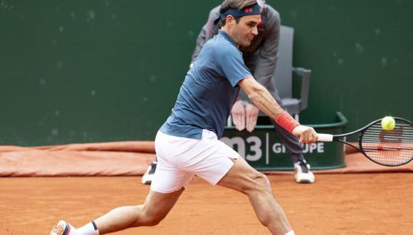 Roger Federer cayó en su tercer partido del año en el Torneo de Ginebra. (Twitter)