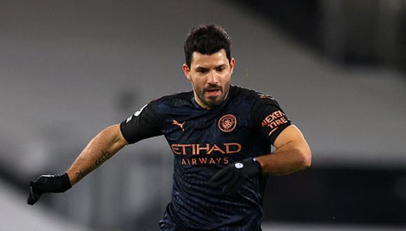 Sergio Agüero termina contrato con el Manchester City el 30 de junio de 2021. (Getty)