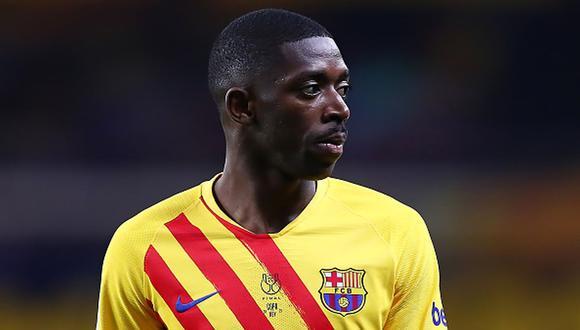 Ousmane Dembélé tiene contrato con el Barcelona hasta eñ 30 de junio de 2022. (Getty)