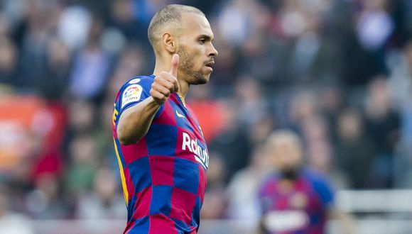 Martin Braithwaite llegó a Barcelona procedente del Leganés por 18 millones de euros. (Foto: AFP)