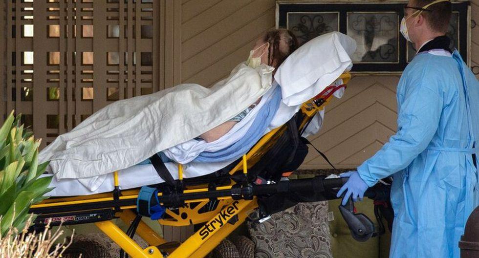 Paciente con coronavirus trasladado al Life Care Center de Kirkland. (Reuters)