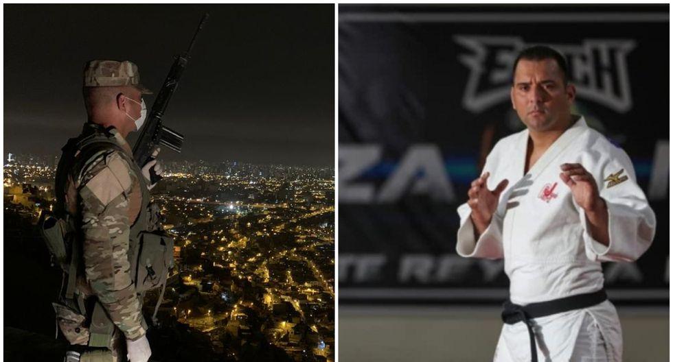 Frank Alvarado practica judo desde los 11 años y el ser deportista lo ayudó a entrar al Ejército. (Foto: IPD)