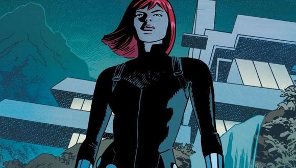 Black Widow cambia su traje por una armadura (Marvel)
