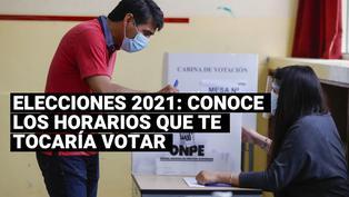¿A qué hora me tocaría ir a votar según el último dígito de tu DNI en lasElecciones 2021?
