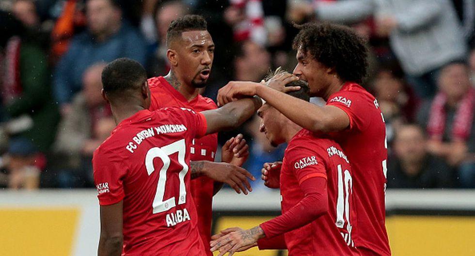 Bayern Munich le ganó al Hoffenheim como visitante y sigue como líder de la Bundesliga 2020. (Foto: Getty)