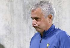 Nada de 'Special': Mourinho fue despedido de Tottenham por malos resultados
