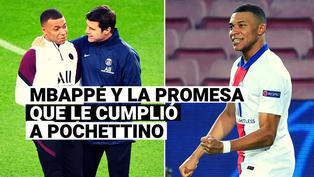 La promesa de Kylian Mbappé a Pochettino y que cumplió ante Barcelona