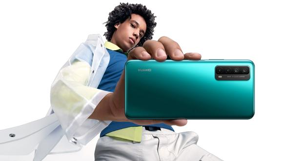 Conoce cuáles son las características del Huawei Y7a, el nuevo celular que ha llegado al país. (Foto: Huawei)