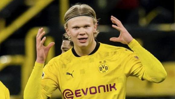 Erling Haaland dejó entrever que no se moverá del Borussia Dortmund en esta temporada. (Foto: Getty Images)