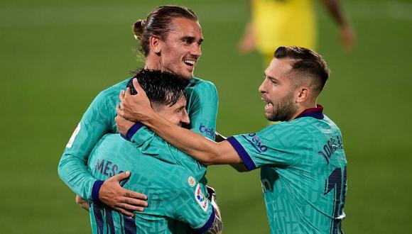 Alba tiene contrato hasta el 2023; Griezmann, hasta el 2024. (Foto: AFP)
