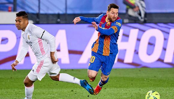 Real Madrid y Barcelona son dos de los clubes fundadores de la Superliga europea. (Getty)