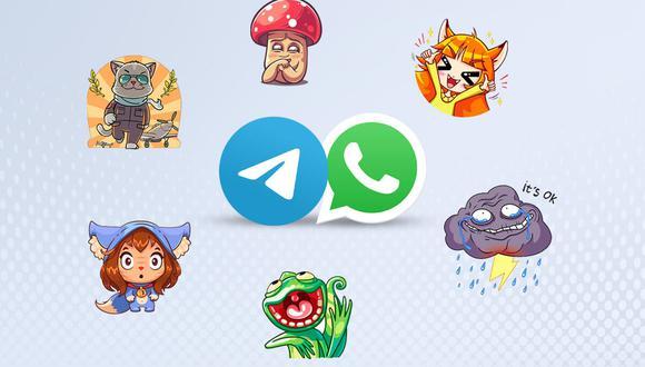 De esta manera podrás pasar tus stickers de Telegram a WhatsApp. (Foto: Depor)