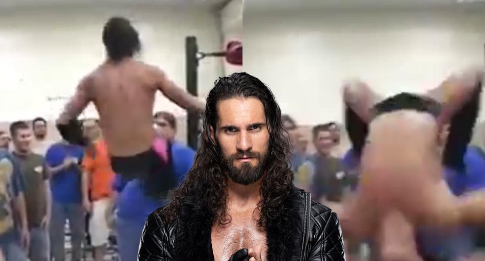 FOTO 1 DE 5 | Un video viral de Seth Rollins en su comienzos en la lucha libre causa revuelo antes de su lucha contra Rey Mysterio en Extreme Rules. | Crédito: en Facebook. (Desliza hacia la izquierda para ver más fotos)