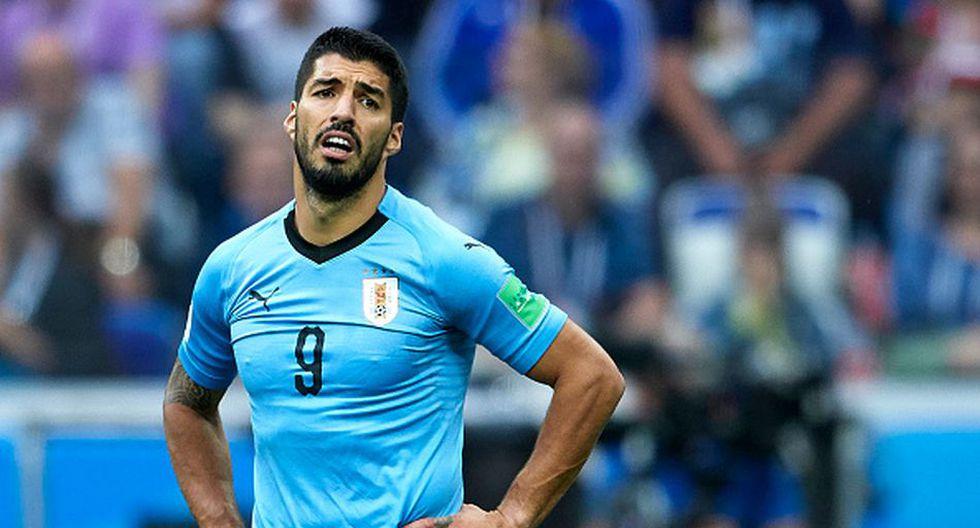 Luis Suárez se mostró indignado por el uso del VAR en la final del Mundial Rusia 2018. (Getty Images)