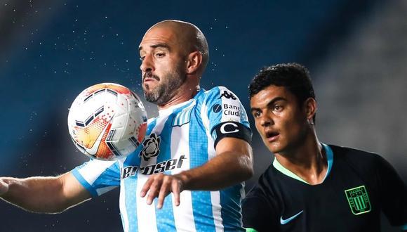 Lisandro López será baja para el duelo de Alianza Lima y Racing. (Foto: EFE)