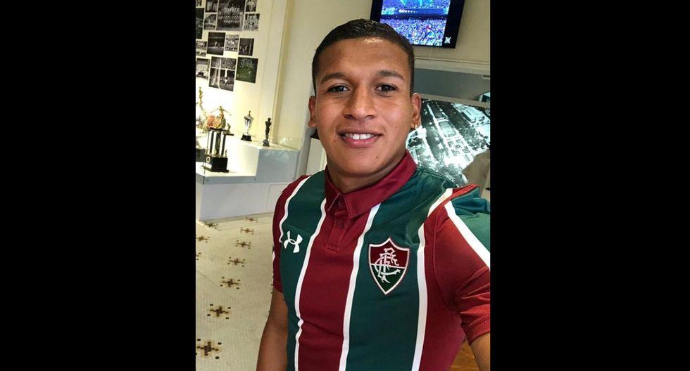 Fernando Pacheco dedicó un mensaje para los hinchas de Fluminense. (Foto: Instagram)