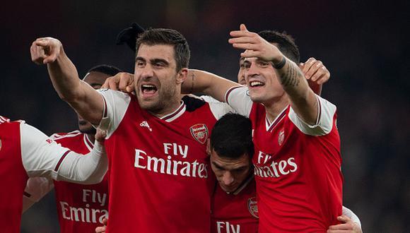 Arsenal ganó con Mikel Arteta por vez primera: triunfo 2-0 ante Manchester United por Premier League. (Getty)