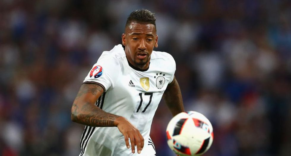 Jerome Boateng es defensor del Bayern Munich. (Foto: AFP)