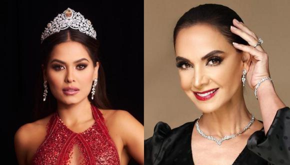 Lupita Jones mostró su emoción por el triunfo de Andrea Meza en el Miss Universo 2021. (Foto: @lupjones @missuniverse / Instagram)