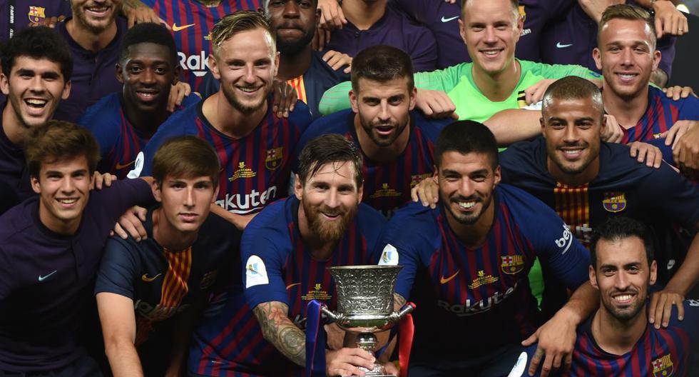 1. FC Barcelona : 13 victorias (1983, 1991, 1992, 1994, 1996, 2005, 2006, 2009,2010, 2011, 2013, 2016, 2018) y 10 derrotas. (AFP)