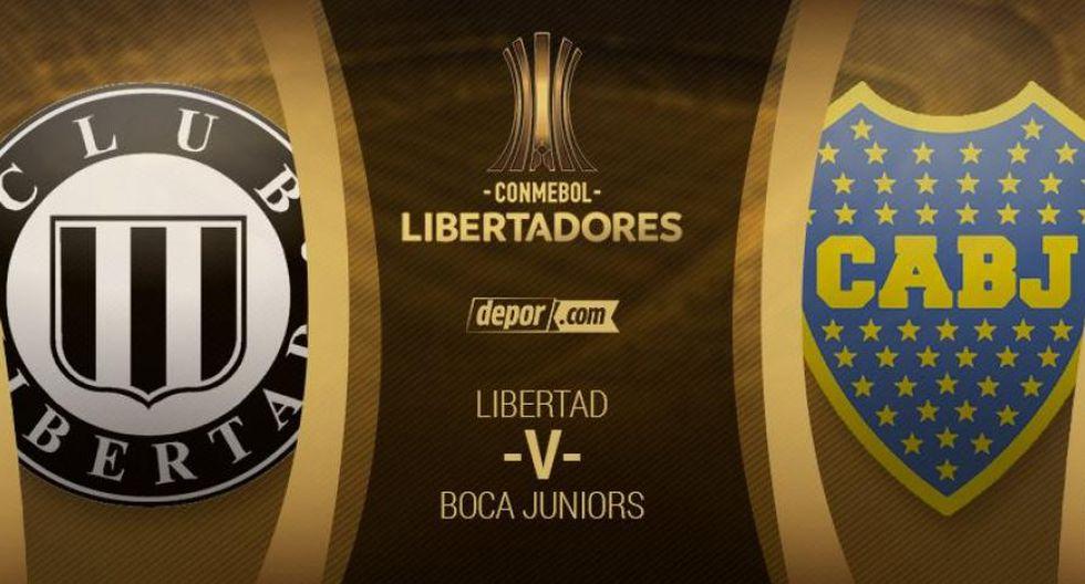 Boca Juniors y Libertad paralizan Asunción: guía de canales y transmisión EN VIVO por Copa Libertadores 2018