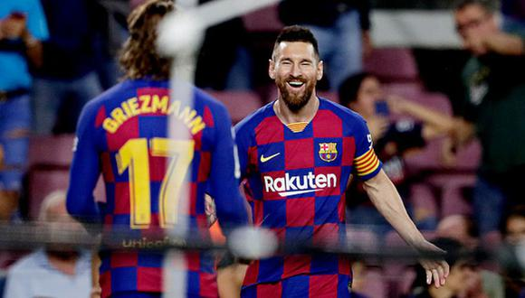 Messi todavía no ha marcado con el Barcelona esta temporada. (Getty)