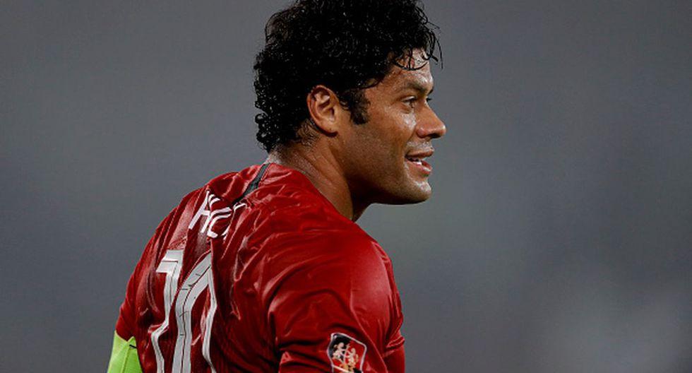 El brasileño lleva cuatro años en la Superliga China. (Getty Images)